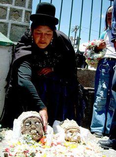 Ñatitas, el día de muertos en Bolivia