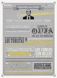 """Breviario de Jep Gambardella, """"La grande bellezza"""""""