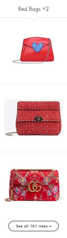 """""""Red Bags #2"""" by kikikoji ❤ liked on Polyvore featuring bags, handbags, shoulder bags, gamiss, red purse, crossbody purses, red cross body purse, red crossbody purse, red crossbody and red"""