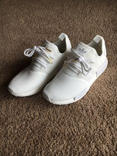 Adidas NMD white uncaged