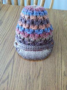 Smocking Stitch Knit Hat by MemorableKnits on Etsy, $25.00