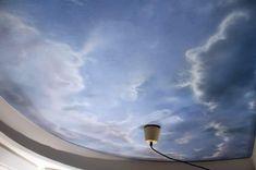 Mehr dazu > http://www.malerische-wohnideen.de/blog/deckenmalerei-als-himmel-malen-mit-wolken-von-florian-geyer.html