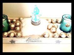 DIY/TUTO déco de Noël comment faire un centre de table pour les fêtes de...