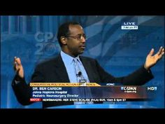"Dr. Benjamin Carson's Stirring Speech at CPAC 2013 - Complete Video 3/16/13.  Awesome guy! Why doesn't he talk about race?  ""Because he's a neurosurgeon."" How absolutely refreshing to hear! He's just such a regular dude,doesn't need to prep a fancy speech,  just gets up on stage, tells it like it is AND speaks common sense - all without a teleprompter! We could use some of that in DC, don't you think?"