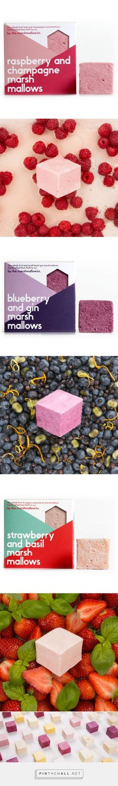 The Marshmallowist / Artisan fresh fruit marshmallows in unexpected flavours / by themarshmallowist
