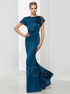 Tbdress.com offers high quality Mermaid Round Neck Lace Sashes Floor Length Evening Dress Latest Evening Dresses unit price of $ 109.24.