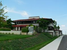 The Westcott House, Springfield, Ohio  Frank Lloyd Wright