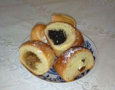 Babkine tvarohové rožky • recept • bonvivani.sk Pretzel Bites, Doughnut, Ale, Muffin, Bread, Breakfast, Desserts, Food, Breakfast Cafe