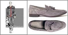 Colori estate 2015: pantofola in suede grigio chiaro Franceschetti SS15  #franceschetti #franceschettishoes #madeinitaly #madeinmarche