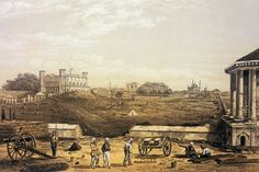 Alambagh, Lucknow- Christmas Day 1857