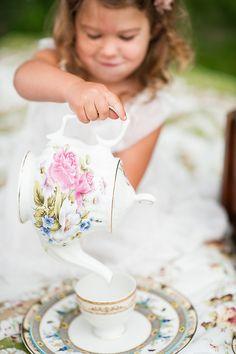 Vintage Tea Party - Gina Cristine Photography