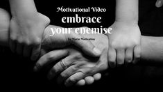How to deal with haters - Embrace your enemies (motivational video) Motivational Videos, Inspirational Videos, Better Day, Enemies, Dreaming Of You, Told You So, How To Get, Sayings, Lyrics
