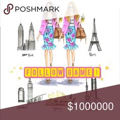 FOLLOW EVERYONE BACK! ✨GAME FULL!! Let's grow together!  {Game Steps}: 1. Like this post  2. Follow Me and All who Liked this post 3. Share this post ♻️ Sharing is caring! ♻️  Tag your friends!  kate spade Bags