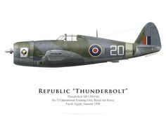 Thunderbolt Mk I, No 73 Operational Training Unit RAF, 1944