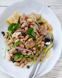 Tuna-and-White-Bean Salad Recipe on Food & Wine