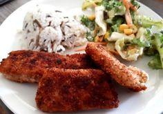 Fisch-Knusperli mit Nussmix Panade - Kochfantasien Kochrezepte Blog Meat, Chicken, Blog, Stay At Home Mom, Pisces, Chef Recipes, Food Food, Cooking, Blogging