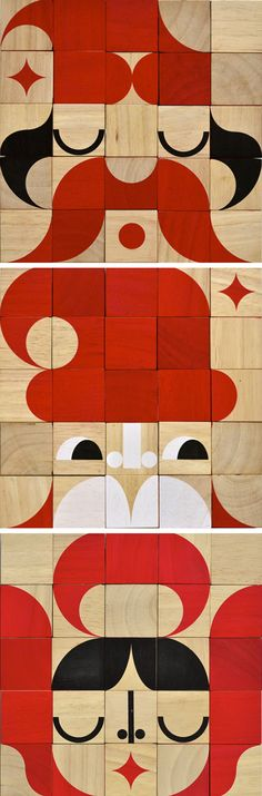 new Facemaker wooden blocks toy, by Miller Goodman, available in Feb 2012