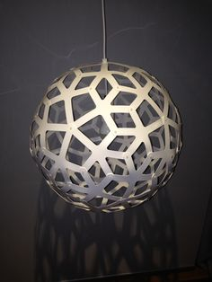 Pendant Lamp Shade by nzherbi http://thingiverse.com/thing:498845