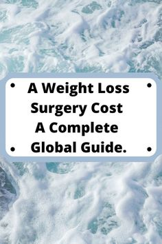 Workout and dieting alone are frequently ineffective in treating persons who are very or excessively obese. What could be the other option? Estimating the weight loss surgery cost is a lengthy process