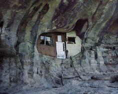 Kreative Architektur: Viele Männer haben sich ihre Behausungen einfach selbst...