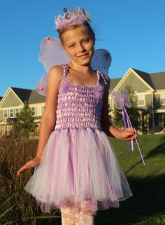 Lavender Princess Ballerina Fairy dress with by Passion4Expression, $48.00