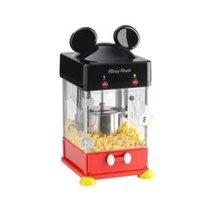 Disney Classic Mickey Kettle Popcorn Maker ($60) ❤ liked on Polyvore featuring home, kitchen & dining, small appliances and disney