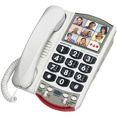 Clarity Amplified Corded Photo Phone – USMART NY