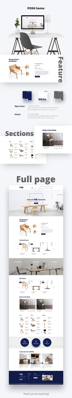 E-Commerce theme for Furniture