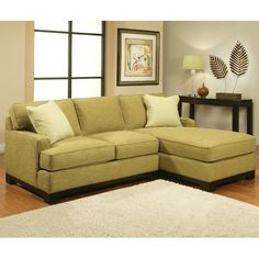 Jonathan Louis Choices - Kronos Contemporary Sectional Sofa with Track Arms