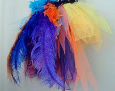 Oro negro Tutu Falda Burlesque tamaños U.K.6 U.S.2 4 6 8 8 10
