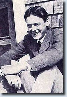 T.S. Eliot   Love the photos that are not iconic or famous.