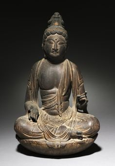 """Nikko, the Sun Bodhisattva"" (ca. 800s CE). Japan, Heian period (ca. 794-1185 CE). Posted on clevelandart.org."