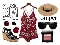 """""""Maroon Black- Festival Style"""" by ahsoka-star-wars ❤ liked on Polyvore featuring ZeroUV and Bobbi Brown Cosmetics"""