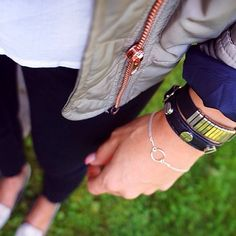 @annayellowbanana dogeared karma bracelet