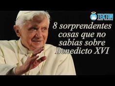 8 cosas que quizá no sabías sobre Benedicto XVI (Joseph Ratzinger) - YouTube Bento, Catholic, Faith, Youtube, Sew, Reading Books, Did You Know, Drive Way, Chistes