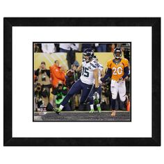 "Seattle Seahawks Jermaine Kearse Super Bowl Xlviii Framed 11"" x 14"" Player Photo, Multicolor"