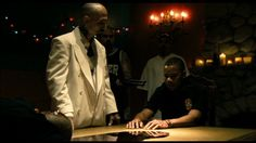 Dirty. Robert lasardo and cube gooding as Roland and salim adel