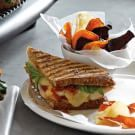 Try the Grilled Chicken Parmesan Panini Recipe on williams-sonoma.com/