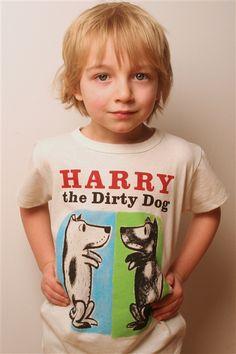 Harry the Dirty Dog book cover t-shirt | Outofprintclothing.com
