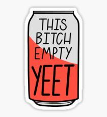 This Bitch Empty Yeet Stickers Snapchat Stickers, Meme Stickers, Phone Stickers, Printable Stickers, Funny Phone Wallpaper, Iphone Background Wallpaper, Pretty Wallpapers, Funny Wallpapers, Homemade Stickers