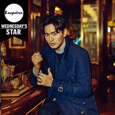 More Of Lee Jin Wook In New York For Esquire Korea's October Issue