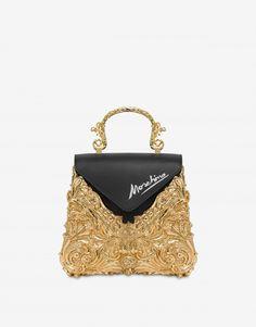 Bolso de mano Marco Oro Moschino, Luxury Handbags, Saint Laurent, Gucci, Chanel, Louis Vuitton, Shoulder Bag, Frame, Shopping