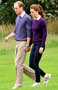 Kate Middleton and Prince William - Matching!