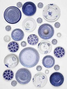 blue and white//Lotta Agaton