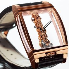 Golden Bridge Watch by Corum