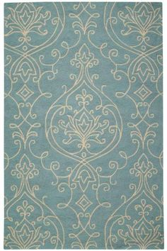 Kenilworth Indoor/outdoor hooked rug. Great rug for our Victorian country farmhouse deck! Nice color!