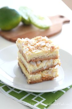 Low Carb Dairy Free gluten-free Key Lime Bar Recipe