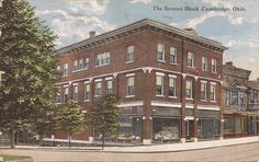 Brenan Block  --- Corner of Wheeling Avenue and North 9th Street.