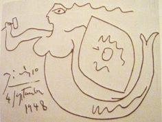 Blog o lekturach, sztuce i innych przyjemnościach: Jak Pablo Picasso ruchem ręki zniszczył spokój mieszkańców bloku na Kole