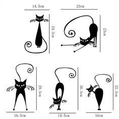 Absztrakt fekete cicák falmatrica Tattoo, Character, Art, Art Background, Kunst, Tattoos, Performing Arts, Lettering, Tattos